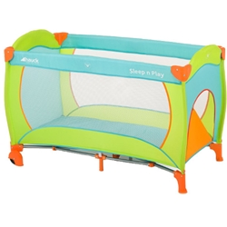 Hauck - Pat Voiaj Sleep and Play Go Plus Multicolor Sun