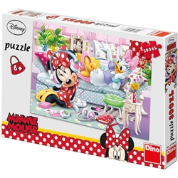 Dino Toys - Puzzle - O zi cu Minnie si Daisy 300 Piese