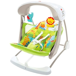 Fisher-Price - Leagan 2 in 1 Rainforest Friends Take Along