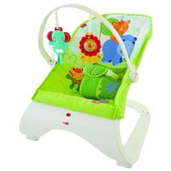 Fisher-Price - Balansoar Rainforest Friends Comfort Curve