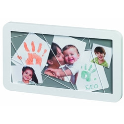 Baby Art - Memory Board White And Grey