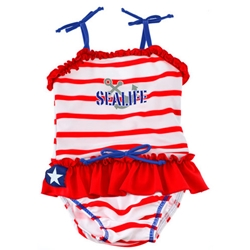 Swimpy - Costum de Baie SeaLife Red XL