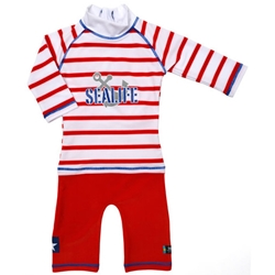Swimpy - Costum de Baie SeaLife Red 98-104