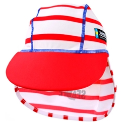 Swimpy - Sapca Copii SeaLife Red 1-2 ani Protectie UV