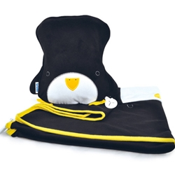 Trunki - Set Perna si Pled SnooziHedz Penguin