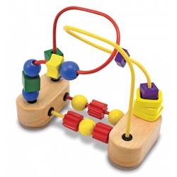 Melissa and Doug - Roller-Coaster cu Margele