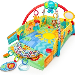 Bright Starts - Salteluta de Joaca 5in1 Sunny Safari Baby s Play Place