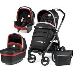 Peg Perego - Carucior 3 in 1 Book Plus S Black POP-UP Synergy