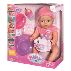 Zapf Creation - Baby Born Papusa Interactiva - Fetita