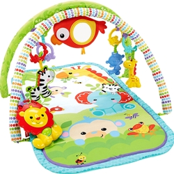Fisher-Price - Centru Activitati Rainforest Friends 3 in 1 Musical Activity Gym