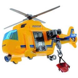 Dickie Toys - Jucarie Mini Action Series Elicopter Rescue Copter