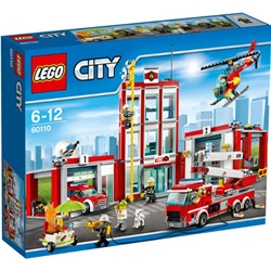 Lego - City - Remiza de Pompieri