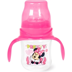 Biberon cu maner 120 ml Minnie