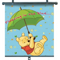 Disney Eurasia - Set 2 Parasolare Retractabile UV Winnie The Pooh