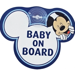 Disney Eurasia - Semn de Avertizare Baby on Board Mickey
