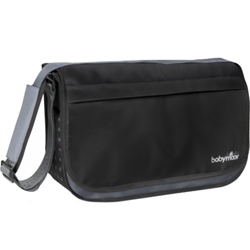 Babymoov - Geanta Multifunctionala Messenger Black