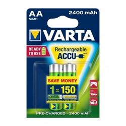 Varta - Set 2 Acumulatori AA 2400 mAh Ready to Use