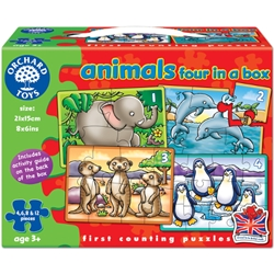 Orchard - Set 4 Puzzle Animale
