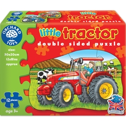 Orchard - Puzzle Fata Verso Tractor 12 Piese
