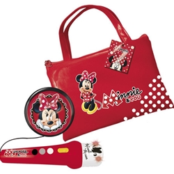 Reig Musicales - Geanta cu Amplificator si Microfon Minnie Mouse