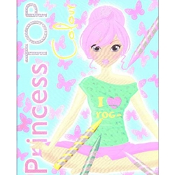 Editura Girasol - Princess Top Color - Bleu
