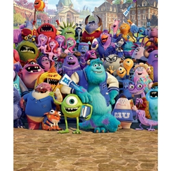 Walltastic - Tapet pentru Copii Monsters University