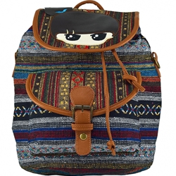 LaRue - Rucsac Urban Romanitze 2in1 Multicolor