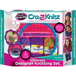 Cra-Z-Art - Kit de Crosetat Ultimate Designer Cra-Z-Knitz