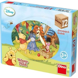 Dino Toys - Puzzle Cubic Winnie the Pooh 12 Piese