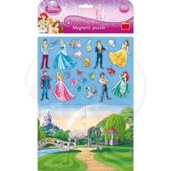 Dino Toys - Puzzle Magnetic Disney Princess 24 Piese
