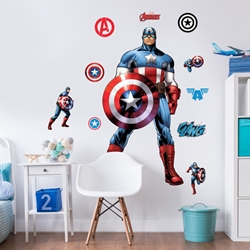 Walltastic - Sticker Mare Capitan America