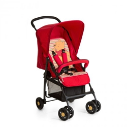 Hauck - Carucior Sport Pooh Spring Brights Red