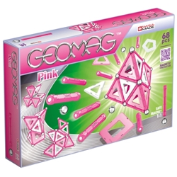 Geomag - Set Constructie Magnetic Pink Panels 68