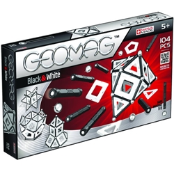 Geomag - Set Constructie Magnetic Black and White 104