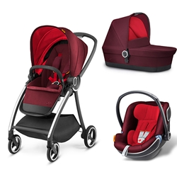 GB -  Carucior  3 in 1 Maris Dragonfirered