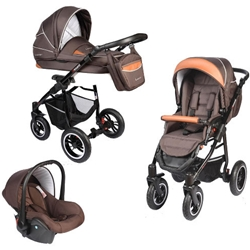 Vessanti - Carucior Crooner 3 in 1 Brown