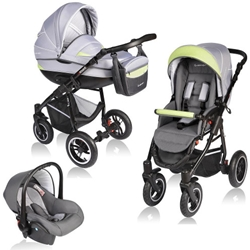 Vessanti - Carucior Crooner 3 in 1 Green Gray