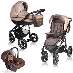 Vessanti - Carucior Crooner 3 in 1 Beige