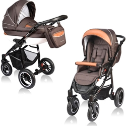 Vessanti - Carucior Crooner 2 in 1 Brown