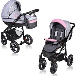 Vessanti - Carucior Crooner 2 in 1 Pink Gray