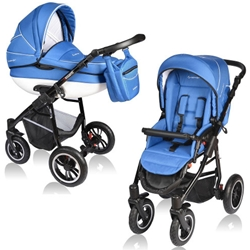 Vessanti - Carucior Crooner 2 in 1 Blue