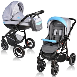 Vessanti - Carucior Crooner 2 in 1 Blue Gray