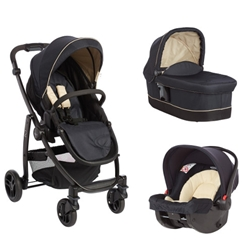 Graco - Carucior Evo II 3 in 1 Navy Sand
