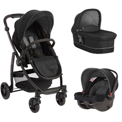 Graco - Carucior Evo II 3 in 1 Black Grey