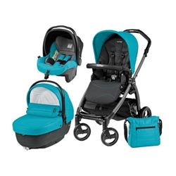Peg Perego - Carucior 3 in 1 Book Plus S Black Sportivo Bloom