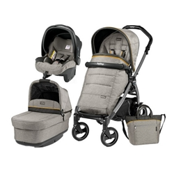 Peg Perego - Carucior 3 in 1 Book Plus 51 Black Completo Elite