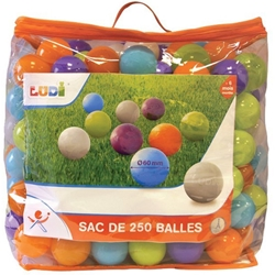 Ludi - Set 250 de Bile Multicolore