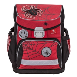 Belmil - Ghiozdan Ergonomic Mini Fit Spiders Red and Black