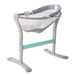Summer Infant - Sleeper cu Vibratii si Muzica By Your Bed Grey