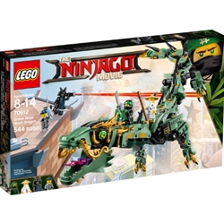 Lego - NINJAGO - Movie Green Ninja Mech Dragon